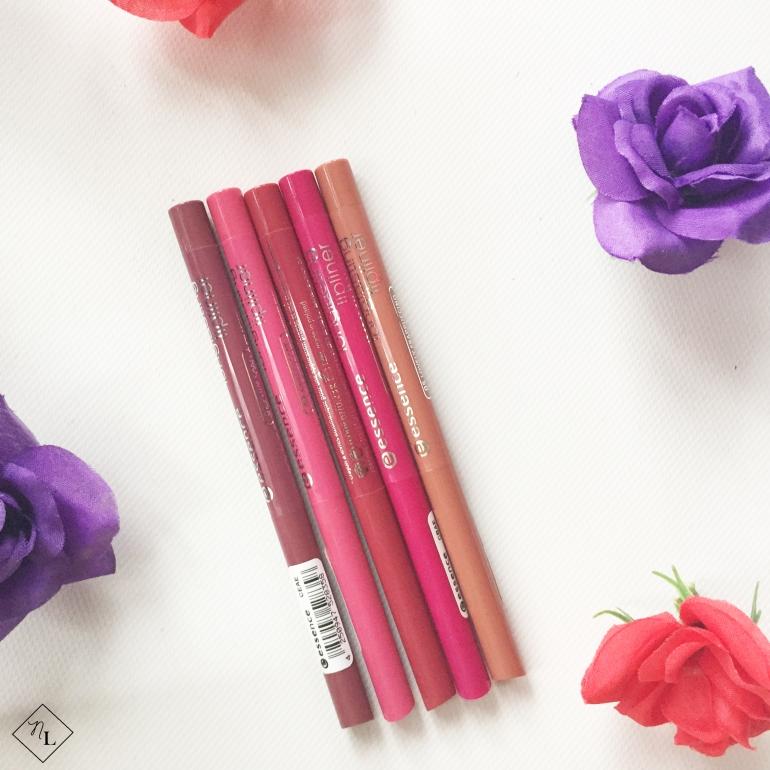 newlune- essence cosmetics - longlasting lipliners