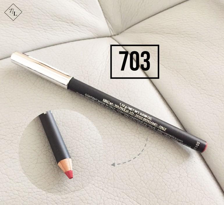 kiko milano-lip pencil-703-newlune-collective haul
