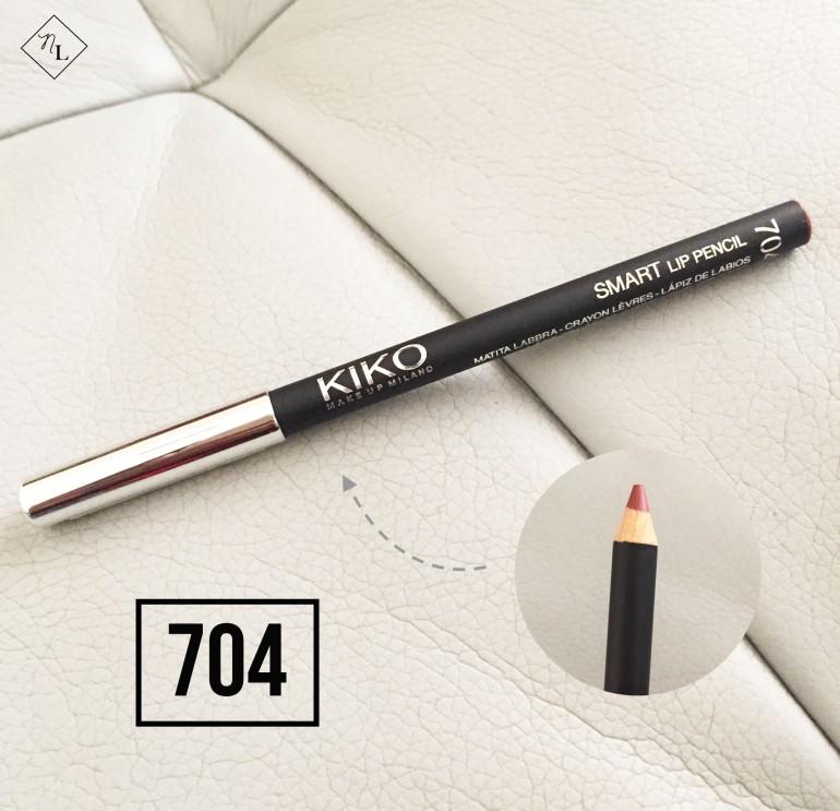 kiko milano-lip pencil 704-newlune-collective haul