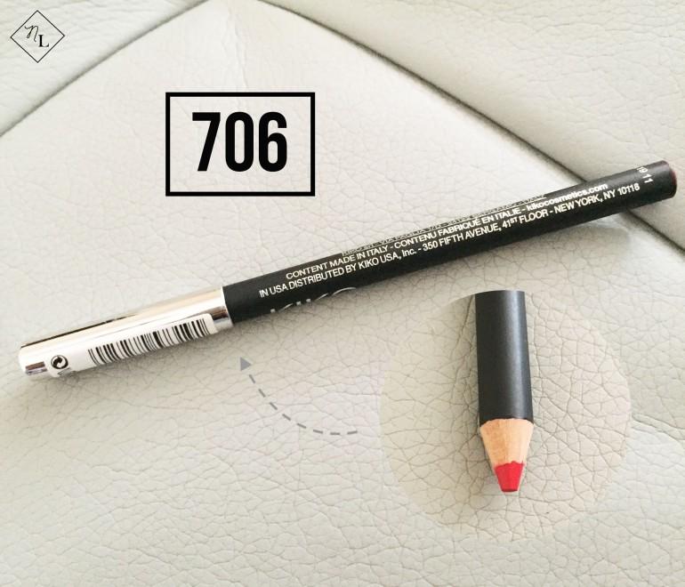 kiko milano-lip pencil-706-newlune-collective haul