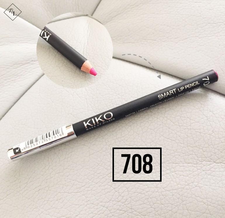 kiko milano-lip pencil-708-newlune-collective haul