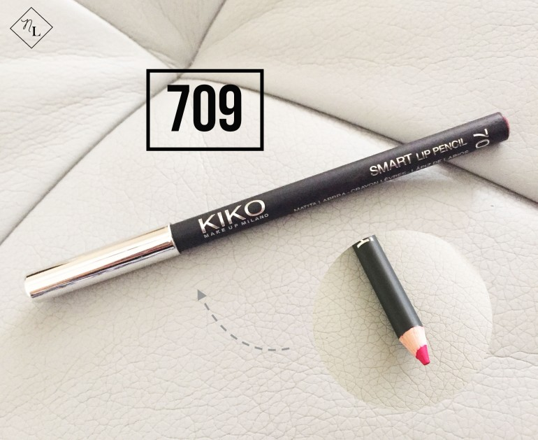 kiko milano-lip pencil-709-newlune-collective haul