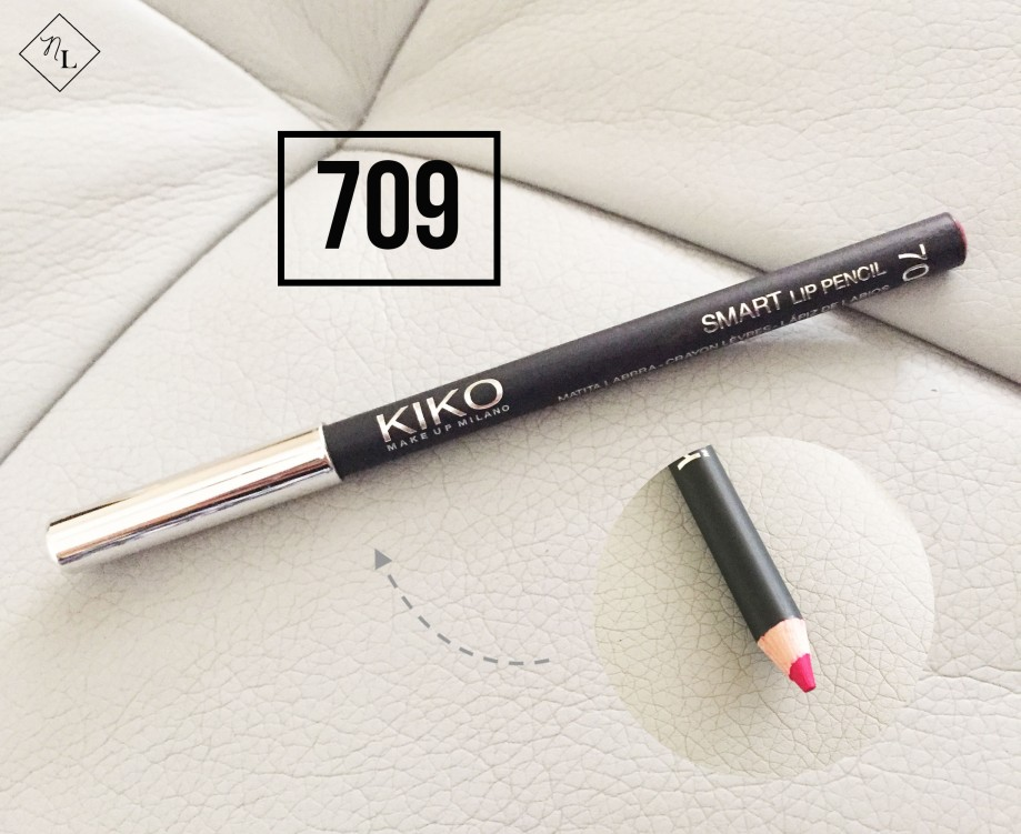kiko milano-lip pencil-709-newlune-collective haul