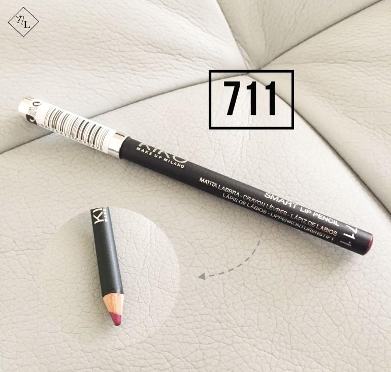 kiko milano-lip pencil-711-newlune-collective haul