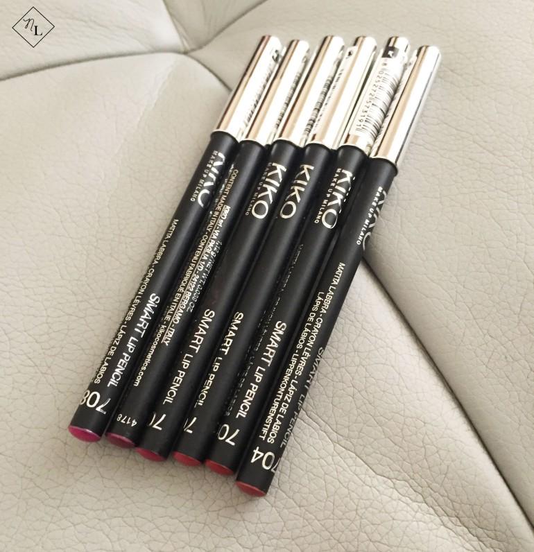 kiko milano-lip pencil-newlune-collective haul
