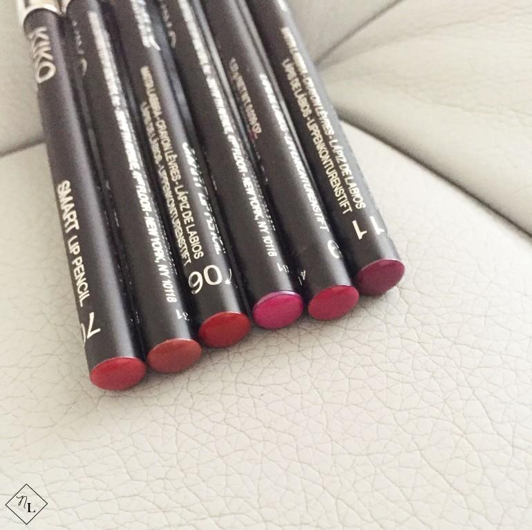 kiko milano-lip pencils-newlune-collective haul