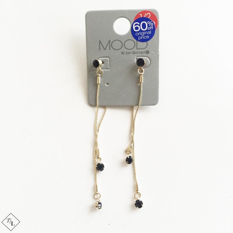 black-long-earrings-debenhams-newlune