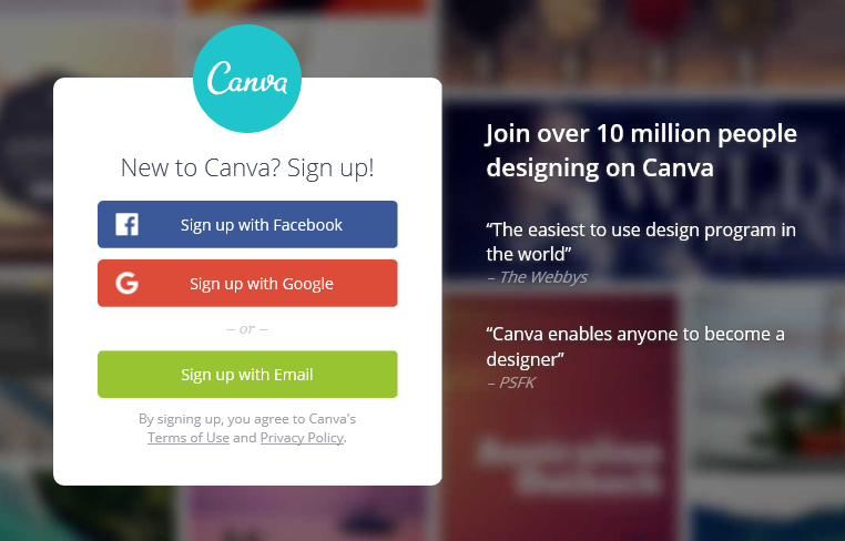 how to create custom images for your blog posts using canva-newlune-canva