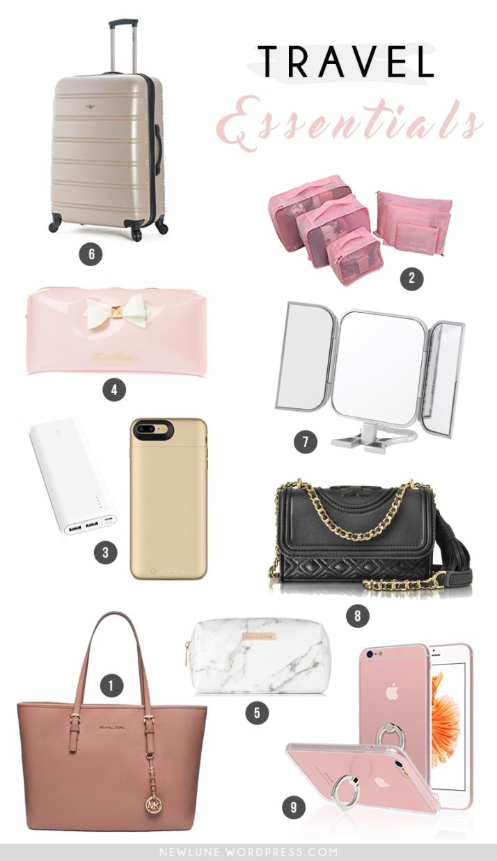 travel essentials-newlune