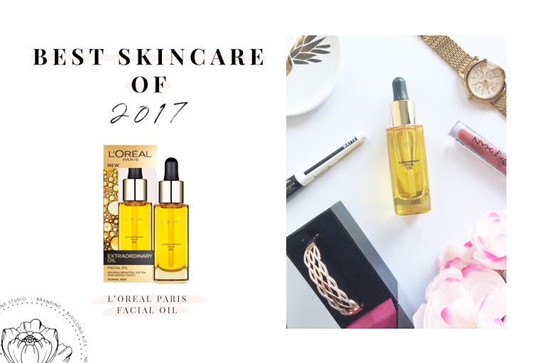 best of 2017 - skincare - l'oreal paris extraordinary facial oil - new lune
