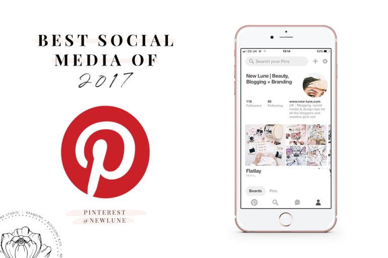 best of 2017 - pinterest - social media - new lune