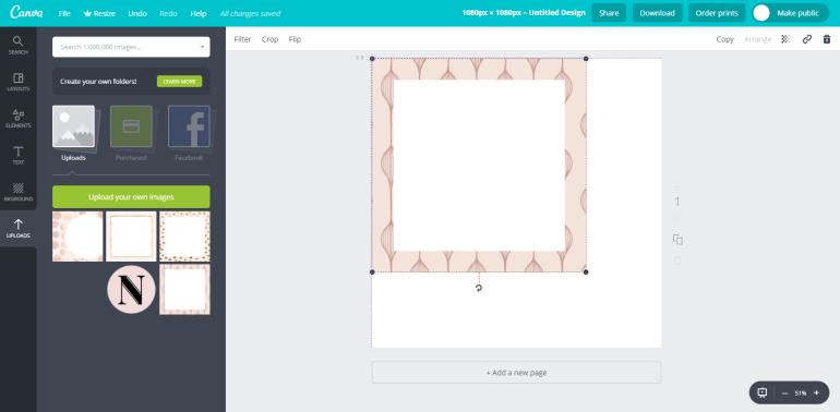 3 tuto-how to create custom social media templates - new lune - free social media templates
