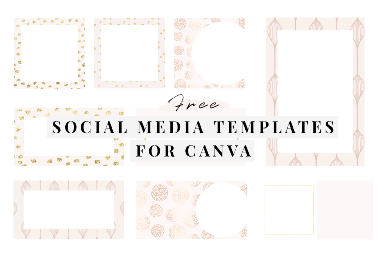 how to create custom social media templates - new lune - free social media templates