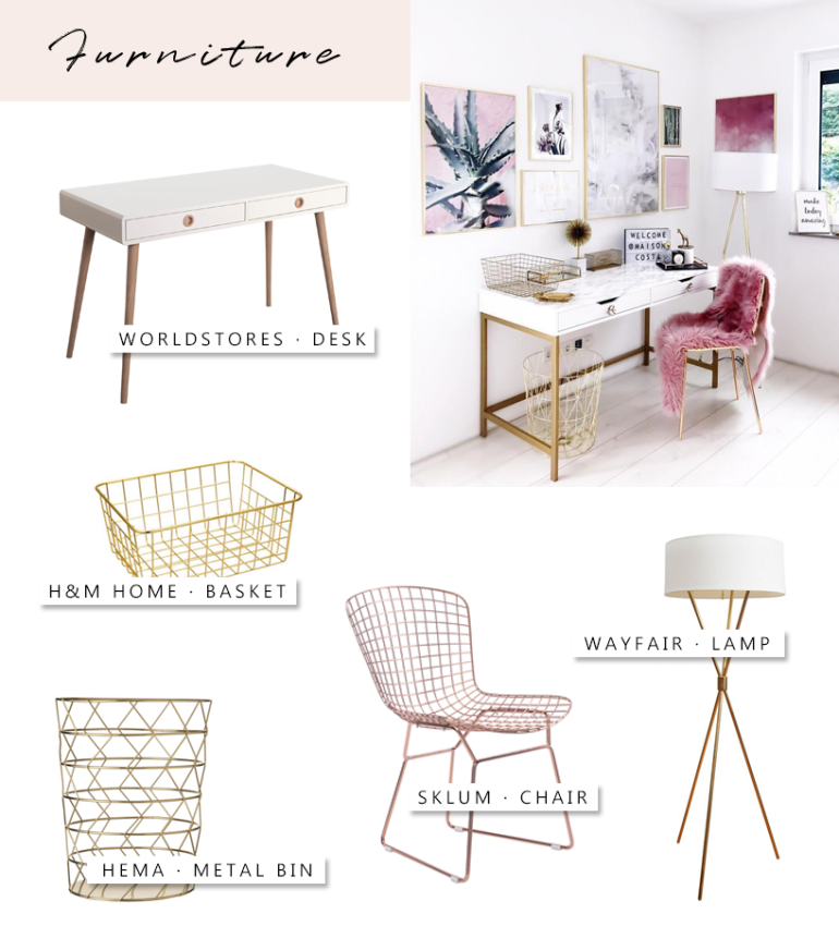 desk decoration ideas - new lune - furniture