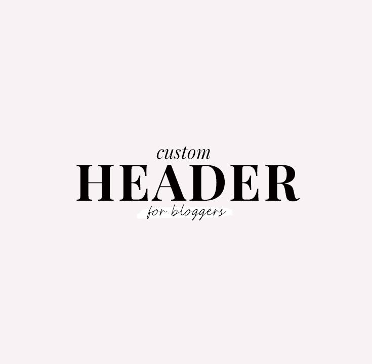 custom blog header - new lune studio