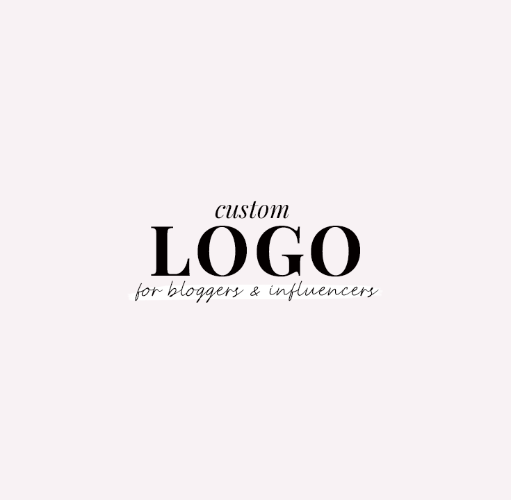 custom logo design - new lune studio