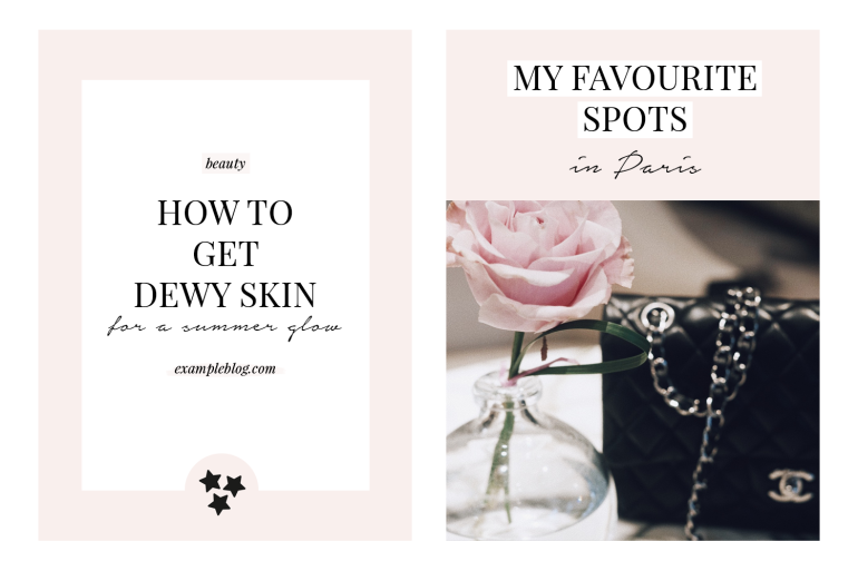 templates for beauty fashion - anatomy of a successful blog post template - new lune