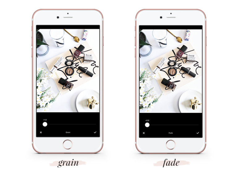 how to create a gorgeous feed using vsco cam - tutorial - free vsco settings - grain - fade