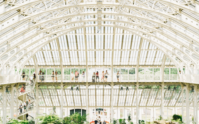 london instagram hotspot guide - kew gardens - new lune 1