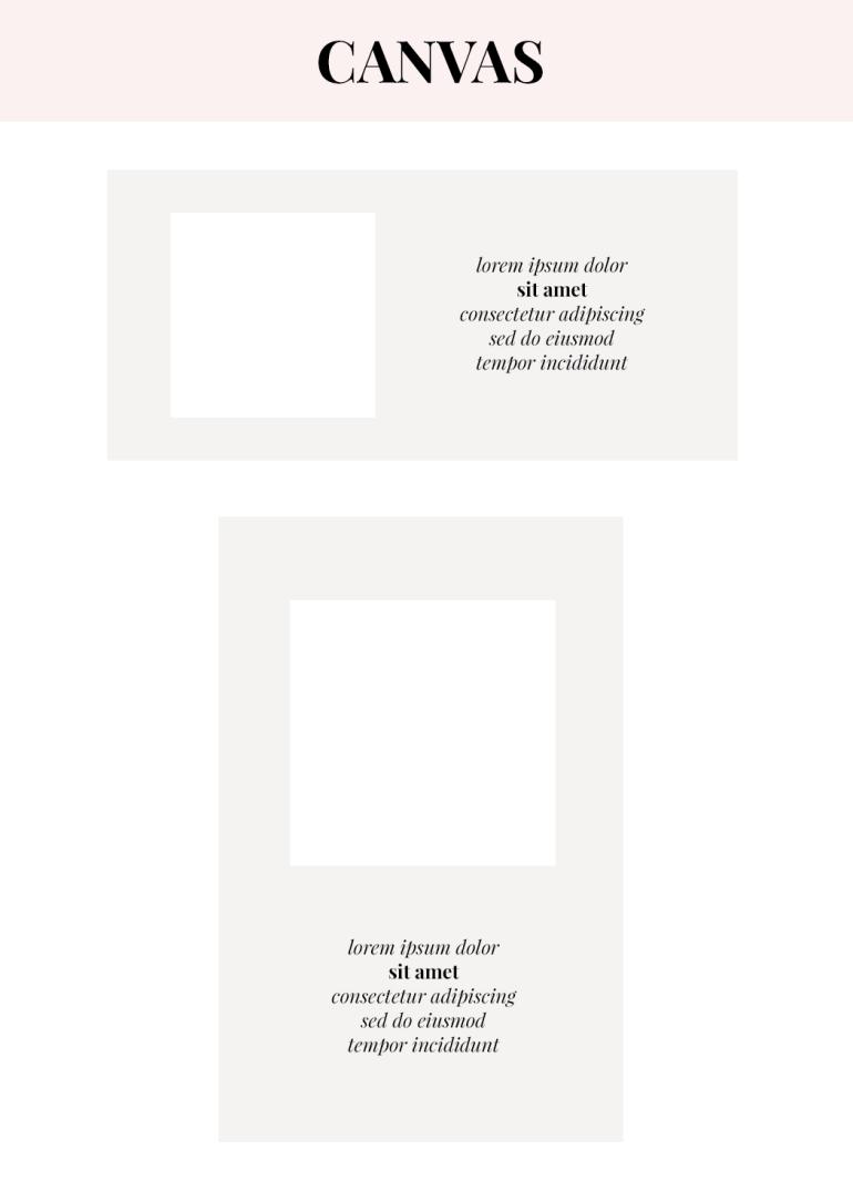 how to design creative announcement pictures - canvas - monogram maker - tutorial - new lune