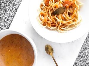 3 healthy lunch ideas for school uni - new lune - schwartz spaghetti bolognese - tesco