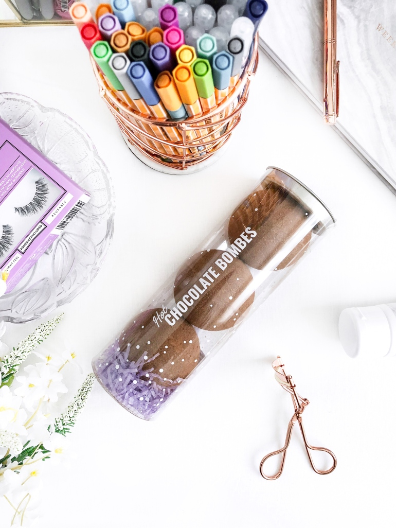 a mother's day gift guide - prezzybox - hot chocolate bombs - new lune