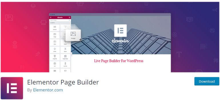 elementor page builder - new lune - the ultimate guide to wordpress plugins