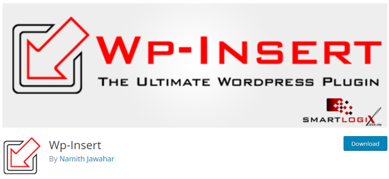 wp insert - new lune - the ultimate guide to wordpress plugins