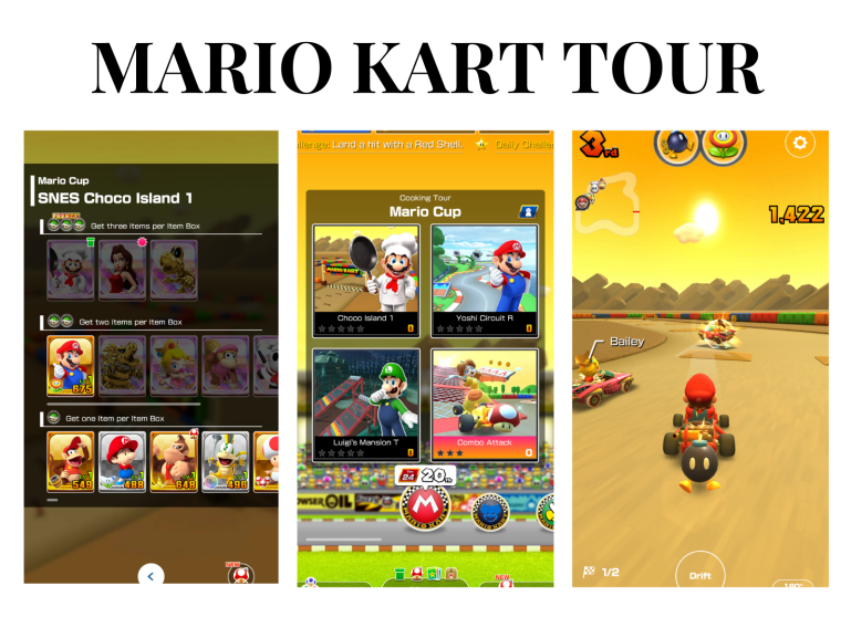 10 games you have to download on your phone - new lune - mario kart tour