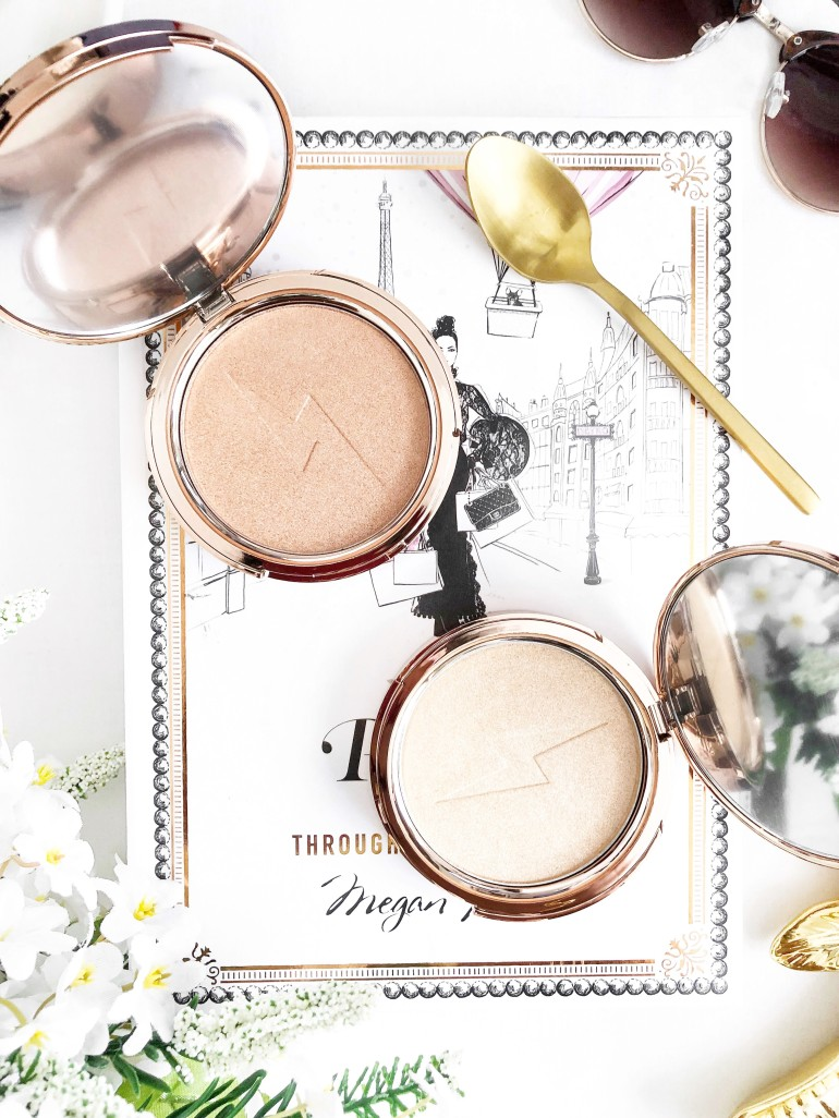 the best highlighters for christmas by jolie beauty - new lune - dreaming - saintly