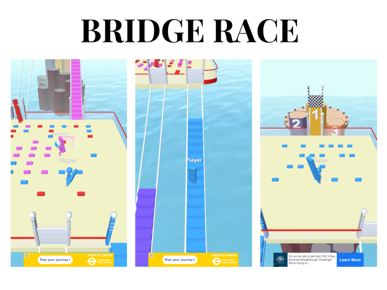 5 games you absolutely need to try - new lune - bridge race