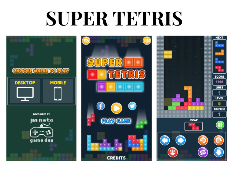 5 games you absolutely need to try - new lune - plays org - super tetris