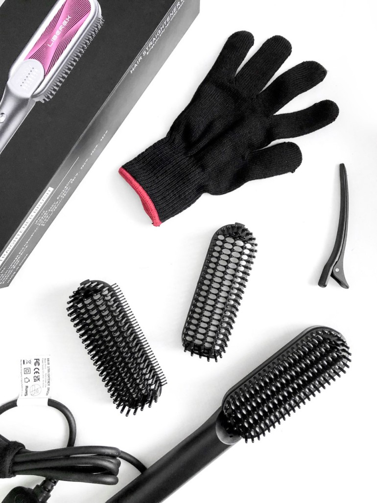 getting my life together again - new lune - liberex - hair straightener brush - items