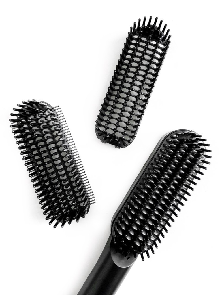 getting my life together again - new lune - liberex - hair straightener brush - product